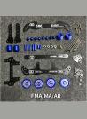 MS3-22MM M12 Cono Morse Fresatura Collet Chuck Titolare CNC Fresa a Manicotto