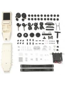 33x24cm Universal Plastic Car Airflow Intake Engine Hood Bonnet Vent Cover Decoration